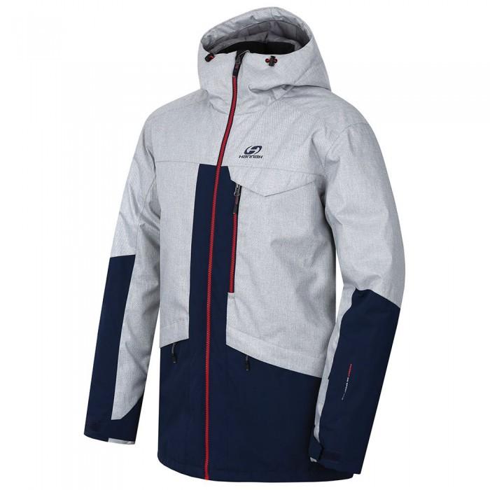 [해외]HANNAH Tiersen Jacket 5138337114 Light Gray Melange / Dress Blues