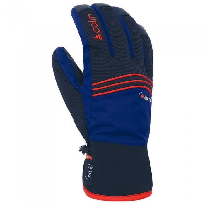 [해외]CAIRN Alpen Ctex Gloves 5138361998 Midnight / Scarlet