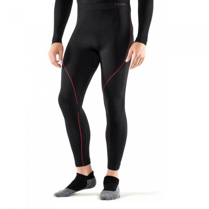 [해외]FALKE Maximum Warm Baselayer Pants 5138367128 Black / Fire