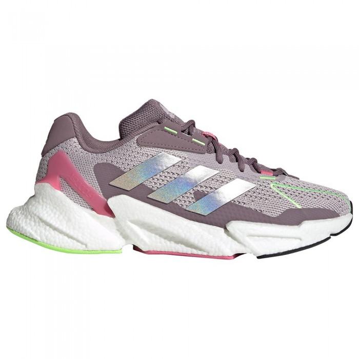 [해외]아디다스 X9000L4 Running Shoes 6138103878 Ice Purple / Silver Metalic / Rose Tone