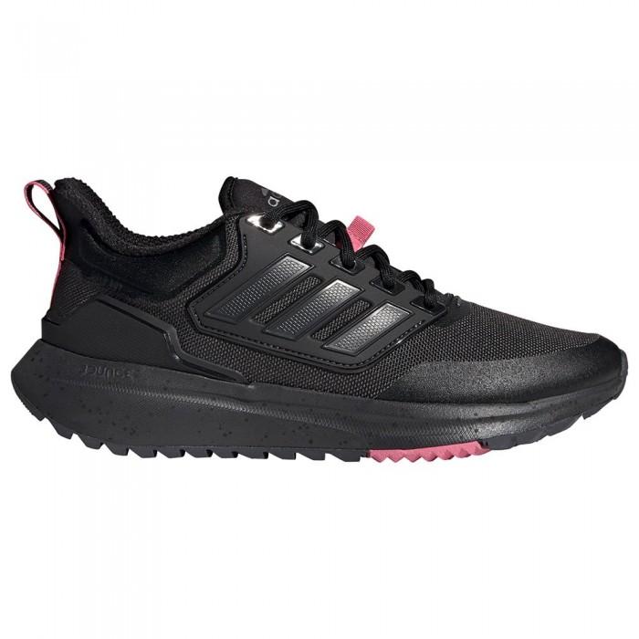 [해외]아디다스 EQ21 Run Cold.Rdy Running Shoes 6138104498 Carbon / Rose Tone / Core Black