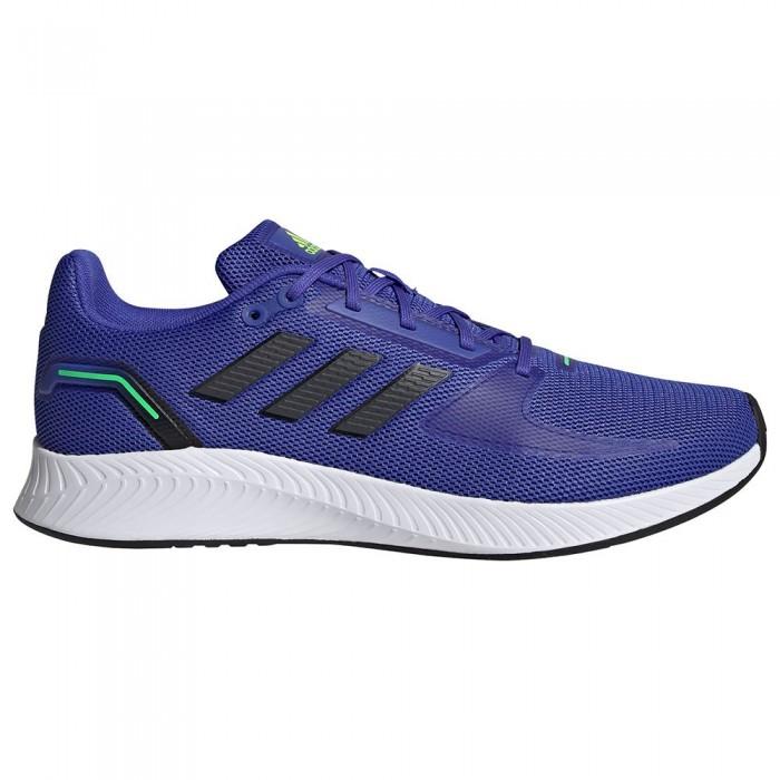 [해외]아디다스 Runfalcon 2.0 Running Shoes 6138104678 Sonic Ink / Carbon / Screaming Green
