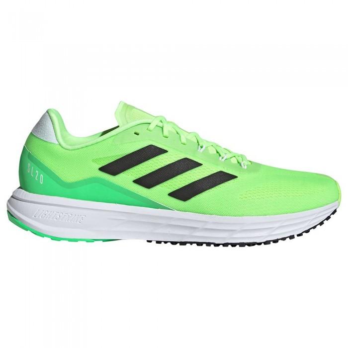 [해외]아디다스 SL20.2 Running Shoes 6138104809 Signal Green / Core Black / Screaming Green