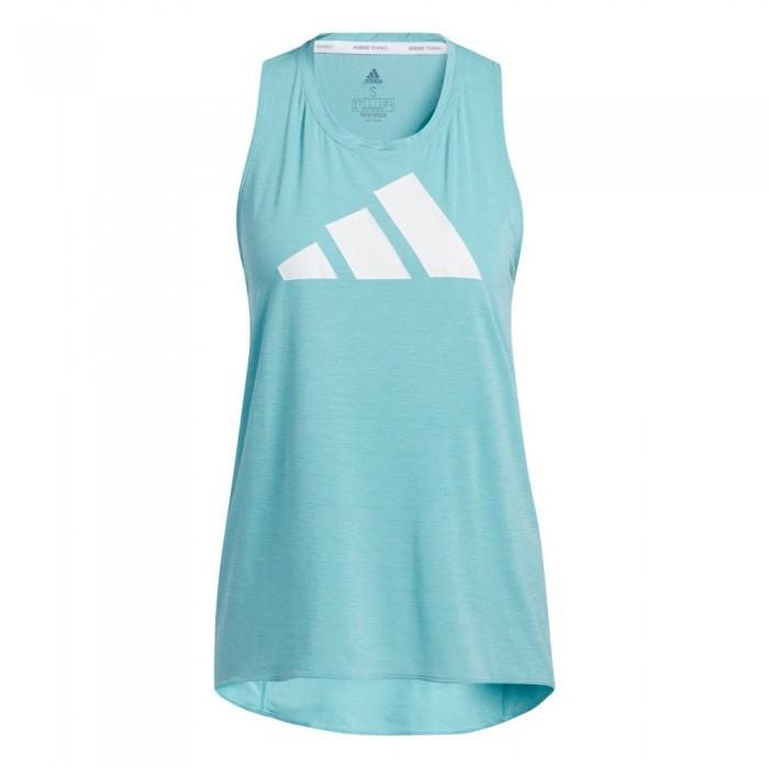 [해외]아디다스 WTR 3 Bar Logo Sleeveless Shirt 6138107778 Mint Ton / White