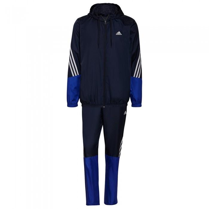 [해외]아디다스 Motion Woven Track Suit 6138109533 Legend Ink / Bold Blue