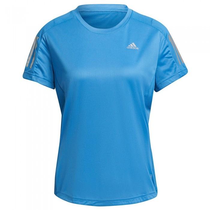 [해외]아디다스 Own The Run Short Sleeve T-Shirt 6138109871 Focus Blue