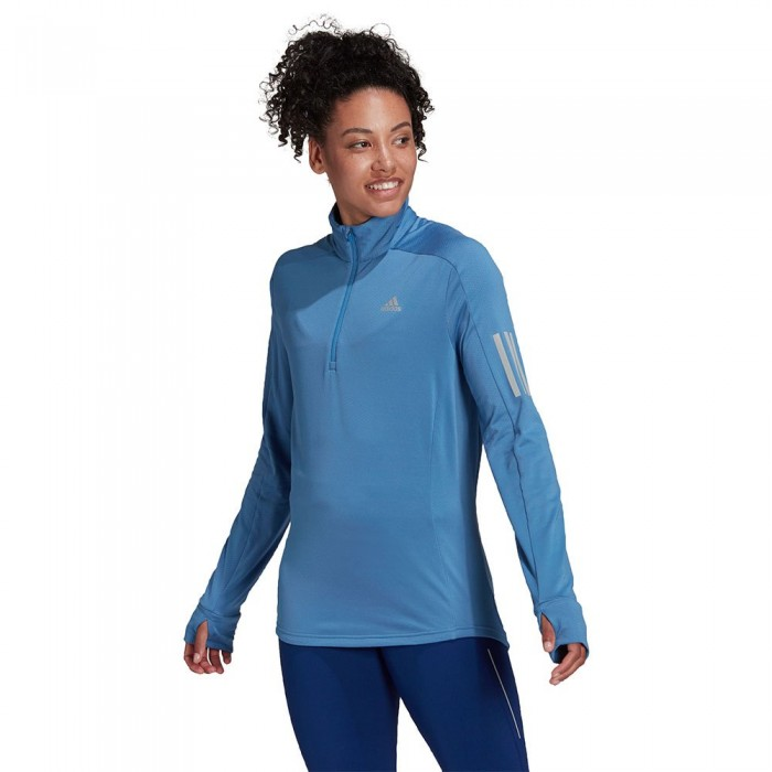 [해외]아디다스 Warm Half Zip Sweatshirt 6138109881 Focus Blue