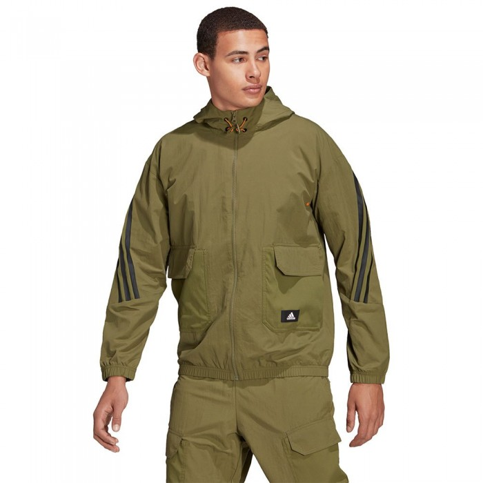 [해외]아디다스 FIoven BST Full Zip Sweatshirt 6138110462 Focus Olive