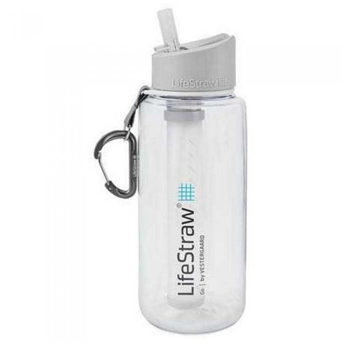 [해외]LIFESTRAW Water Filter Bottle Go 1L 6138101840 Clear