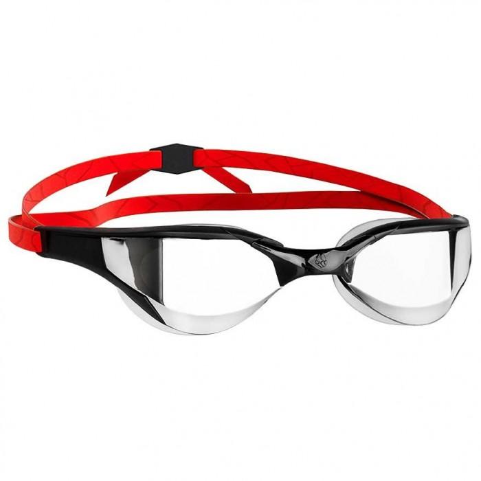 [해외]매드웨이브 Razor Mirror Swimming Goggles 6136779043 Black / Metallic / Red