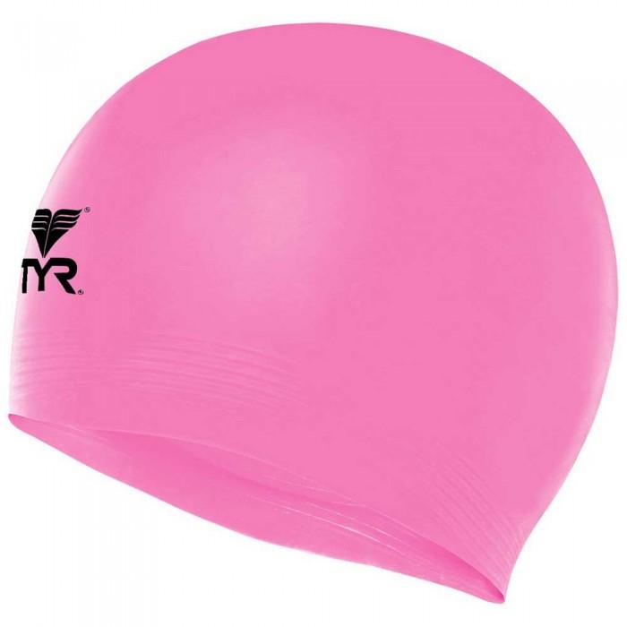 [해외]티어 Solid Latex Swimming Cap 6138106628 Pink