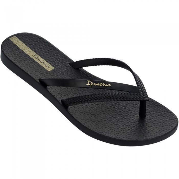 [해외]IPANEMA Bossa Flip Flops 6138299038 Black / Black