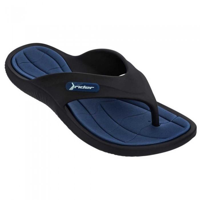 [해외]RIDER Cape XIII Flip Flops 6138299144 Black / Blue