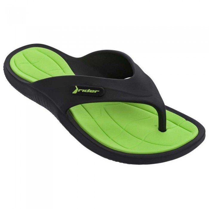 [해외]RIDER Cape XIII Flip Flops 6138299145 Black / Green