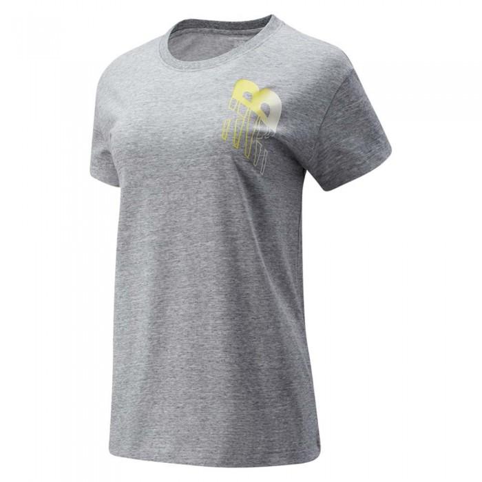 [해외]뉴발란스 Relentless Novelty Crew Sweatshirt Athletic Grey Heather