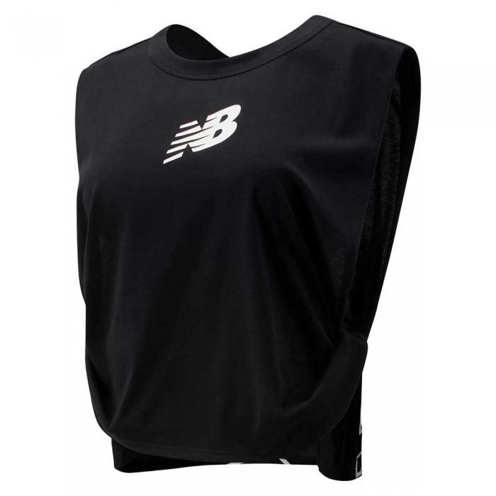 [해외]뉴발란스 Relentless Graphic Sleeveless T-Shirt Black