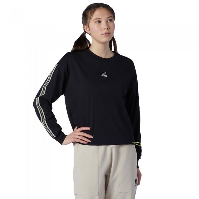 [해외]뉴발란스 Terrain Long Long Sleeve Shirt Black