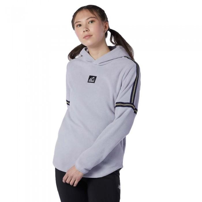 [해외]뉴발란스 Terrain Polar Fleece Sweatshirt Whisper Grey