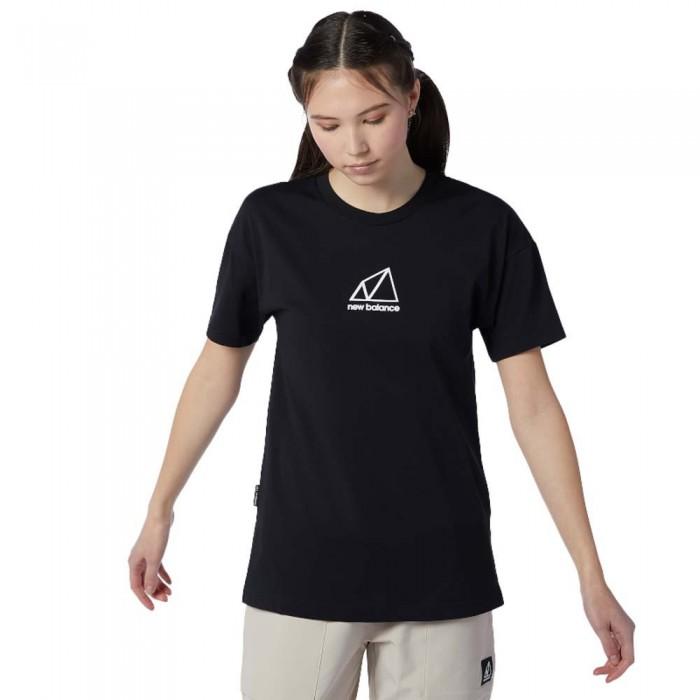 [해외]뉴발란스 Terrain Graphic Short Sleeve T-Shirt Black