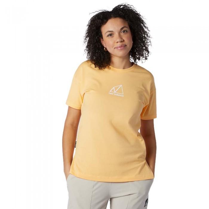 [해외]뉴발란스 Terrain Graphic Short Sleeve T-Shirt Light Mango
