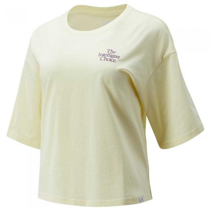 [해외]뉴발란스 Intelligent Choice Short Sleeve T-Shirt Saturn Yellow