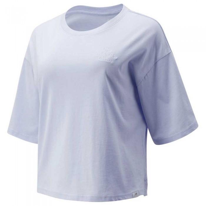 [해외]뉴발란스 Intelligent Choice Short Sleeve T-Shirt Silent Grey