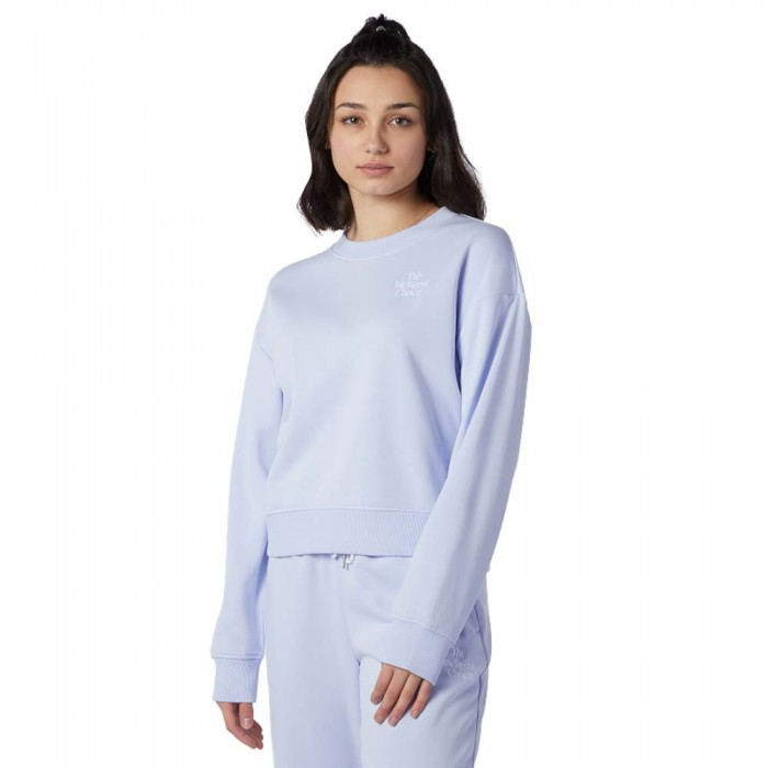 [해외]뉴발란스 Intelligent Choice Crew Sweatshirt Silent Grey