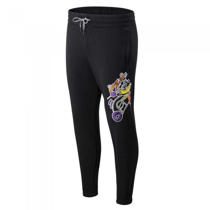 [해외]뉴발란스 Basketball Pants Black