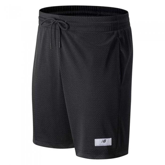 [해외]뉴발란스 Essential Bball Shorts Black