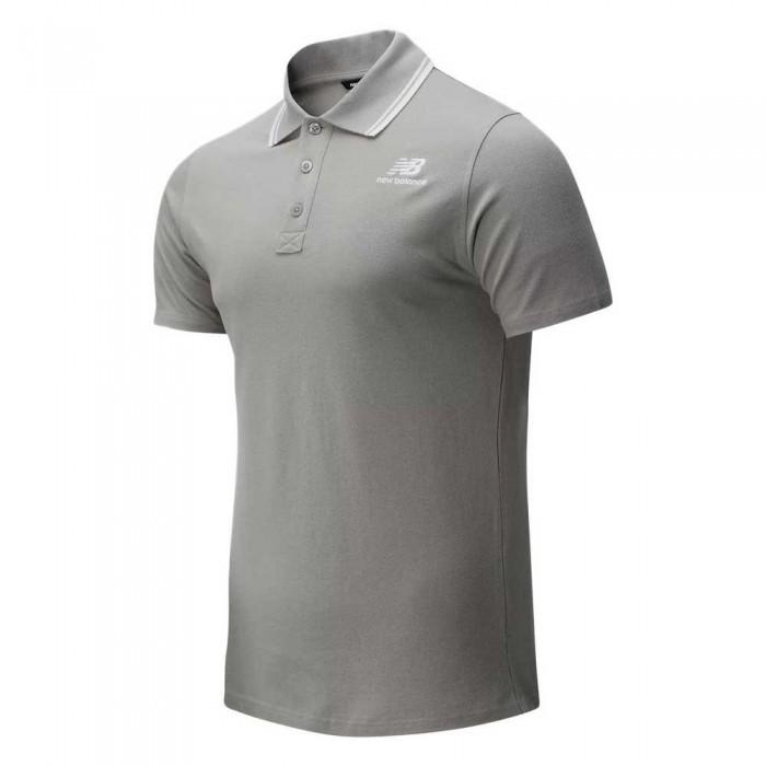 [해외]뉴발란스 Essentials Polo Polo Athletic Grey