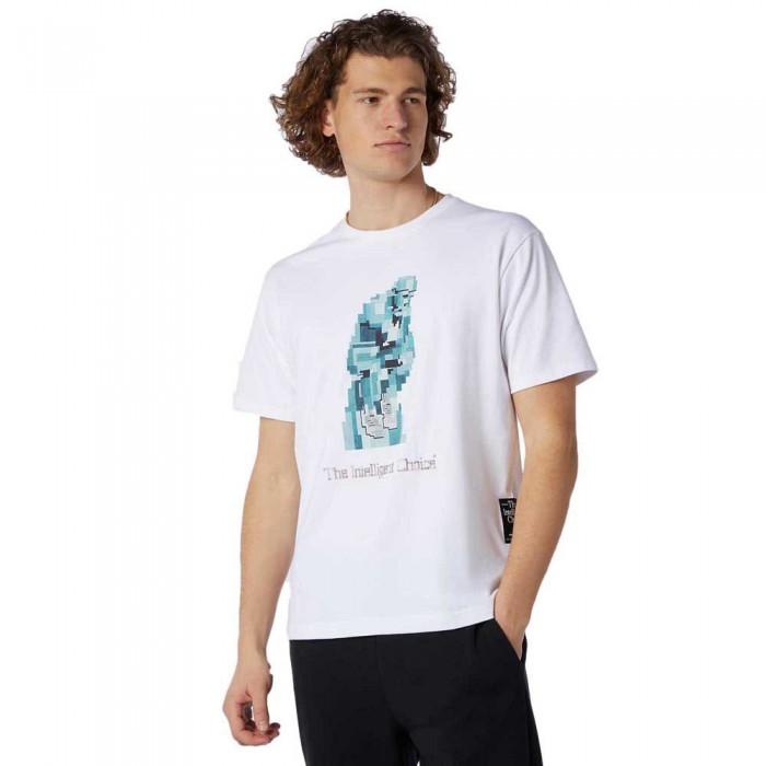[해외]뉴발란스 Artist Lister Short Sleeve T-Shirt White