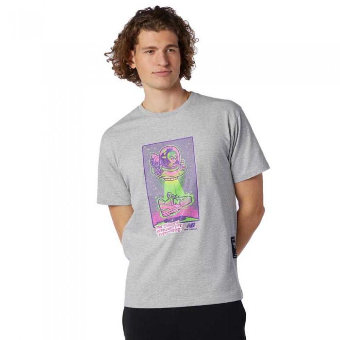 [해외]뉴발란스 Artist Levitzo Short Sleeve T-Shirt Athletic Grey