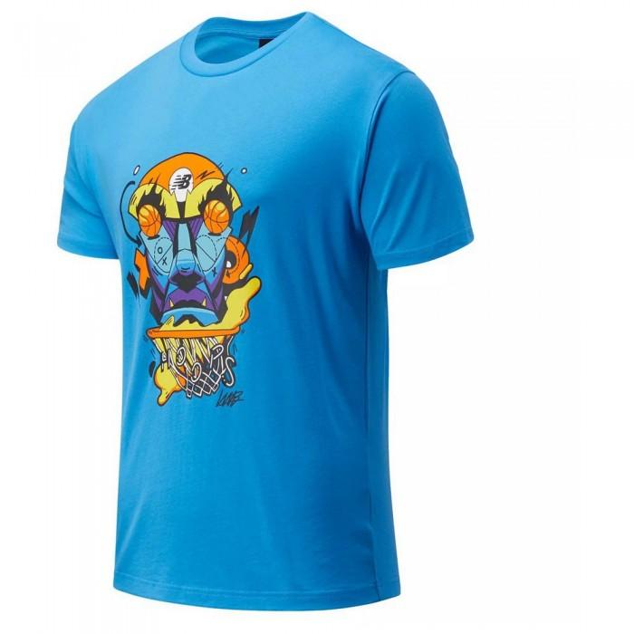 [해외]뉴발란스 Basketball Short Sleeve T-Shirt Helium