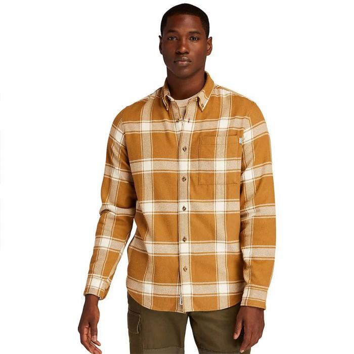 [해외]팀버랜드 Heavy Check Long Sleeve Shirt Rubber YD