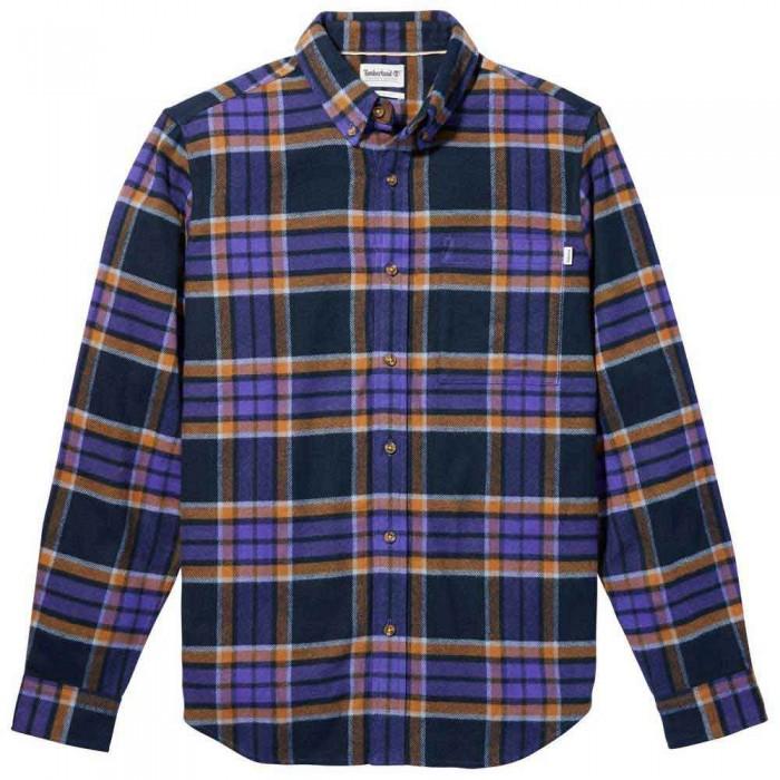[해외]팀버랜드 Heavy Plaid Long Sleeve Shirt Deep Blue YD