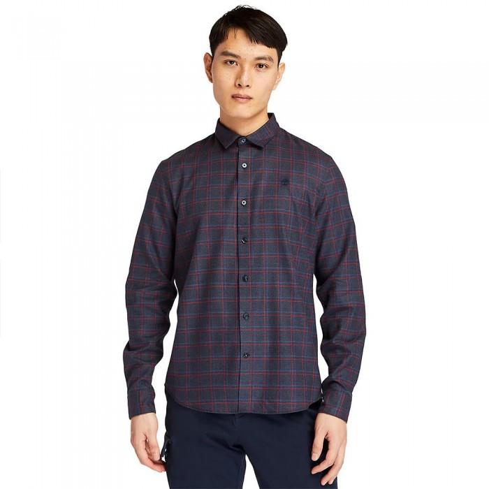 [해외]팀버랜드 Soft Check Long Sleeve Shirt Dark Sapphire YD