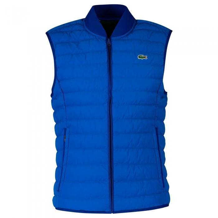[해외]라코스테 Lightweight Foldable Puffer Vest Ultramarine