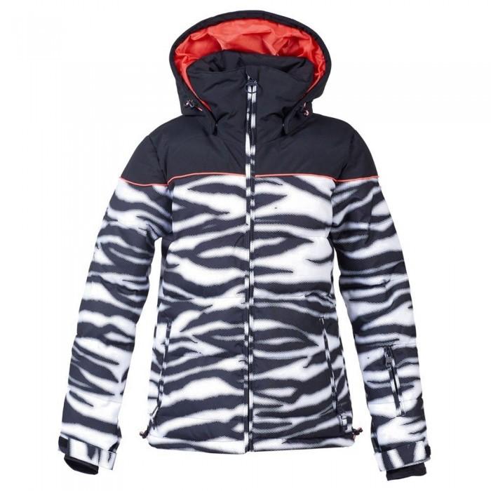[해외]DC슈즈 Diva Jacket 14138152765 Zebra White