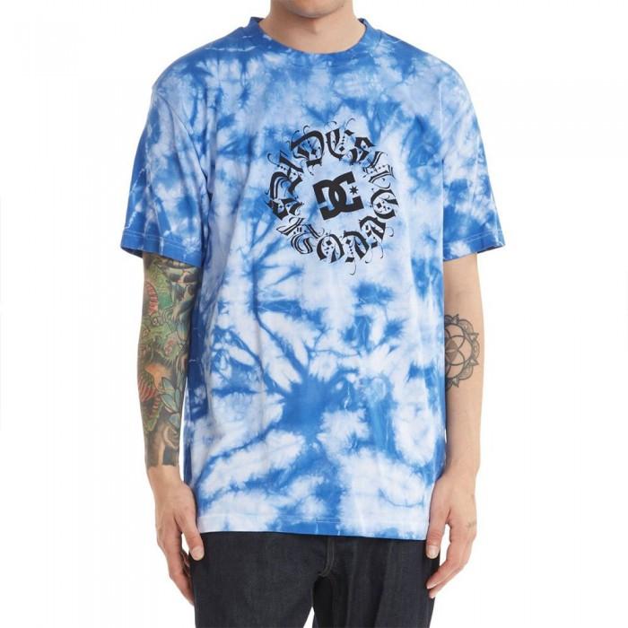 [해외]DC슈즈 DC On My Block Short Sleeve T-Shirt 14138152568 Navy Blazer / White Blotchy Dye