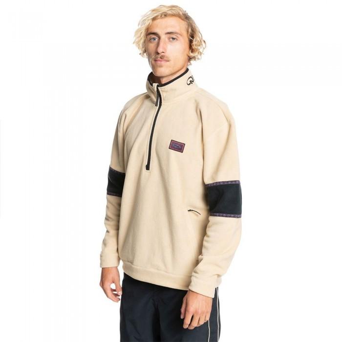 [해외]퀵실버 Powder Chaser Half Zip Fleece 14138172641 Safari