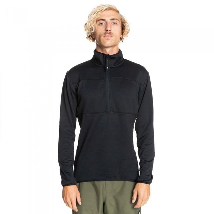 [해외]퀵실버 Steep Point Half Zip Fleece 14138172837 True Black