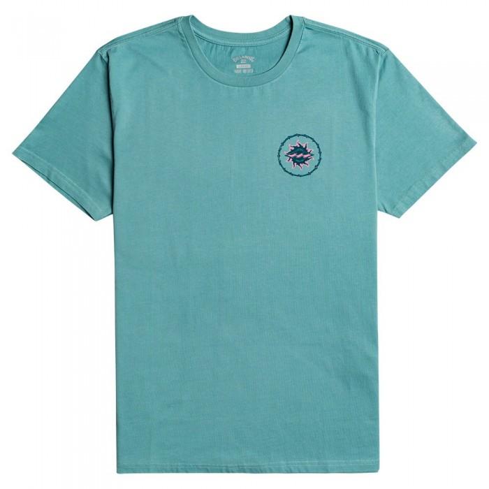 [해외]빌라봉 Holey Moley Short Sleeve T-Shirt 14138286061 Light Marine