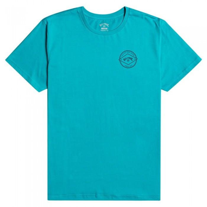 [해외]빌라봉 Rotor Arch Short Sleeve T-Shirt 14138286314 Teal