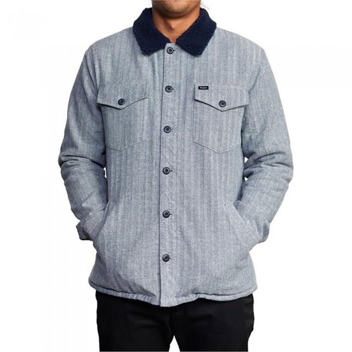 [해외]루카 Benny Jacket Long Sleeve Shirt 14138302041 Moody Blue